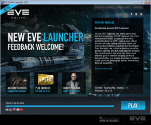 Eve Launcher