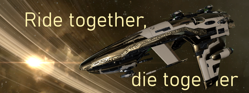 Retribution mit Spruch: Ride together, die together
