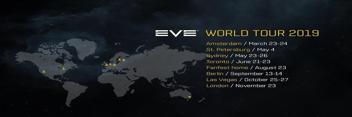 EVE Invasion World Tour 2019